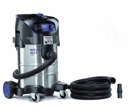 Aspirador tecnico de agua y polvo profesional nilfisk attix 40-21 pc inox