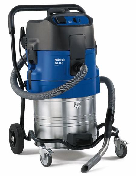 Aspirador profesional de nilfisk para agua attix 751-61