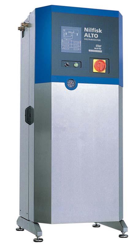 Hidrolimpiadora nilfisk estacionaria de agua fria delta booster 6 bomba