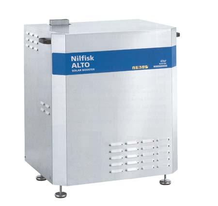 Hidrolimpiadora estacionaria de agua caliente electrica nilfisk solar booster 7-38e18