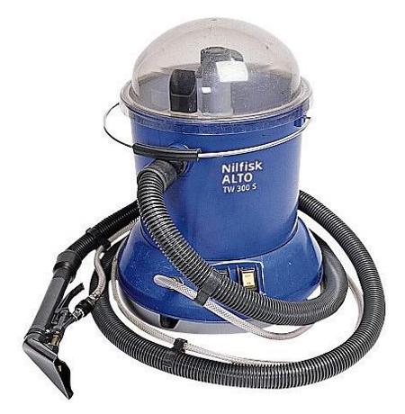 Aspirador nilfisk para uso comercial en coches tw 300 car.