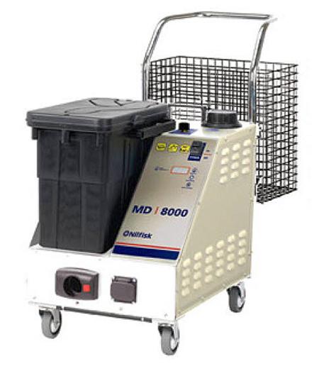 Limpiadora a vapor medica nilfisk md 8000