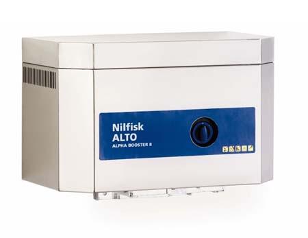 Hidrolimpiadora nilfisk estacionaria de agua fria alpha booster 8-103