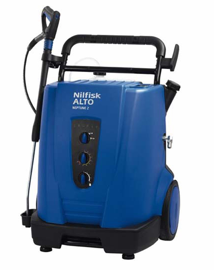 Hidrolimpiadora nilfisk trifasica de agua caliente neptune 2-26 especial