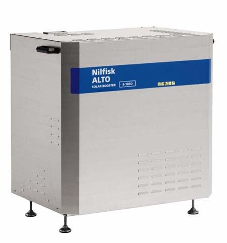 Hidrolimpiadora estacionaria de agua caliente nilfisk solar booster 8-103d