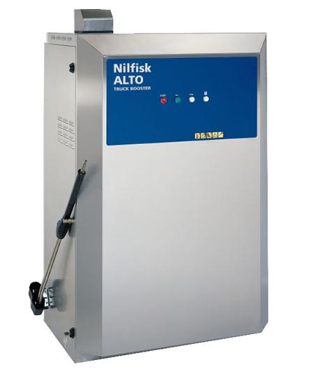 Hidrolimpiadora estacionaria profesional de agua caliente truck booster 5-49 d