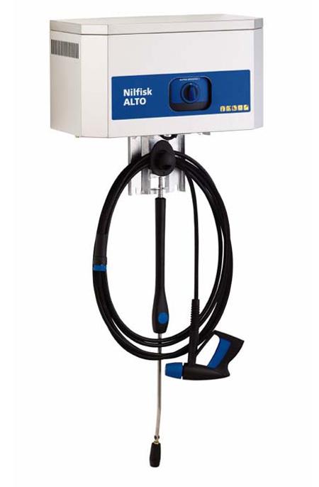 Hidrolavadora estacionaria de agua fria nilfisk alpha booster 5-49