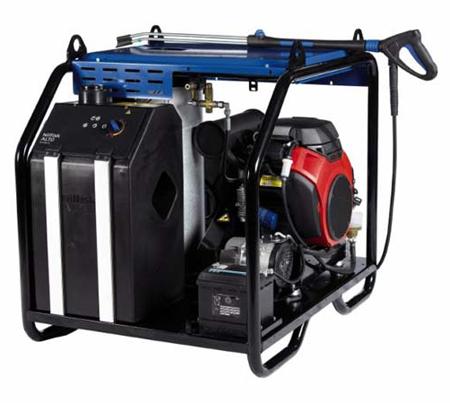 Hidrolimpiadora de agua caliente a gasolina nilfisk neptune 5-46 pe