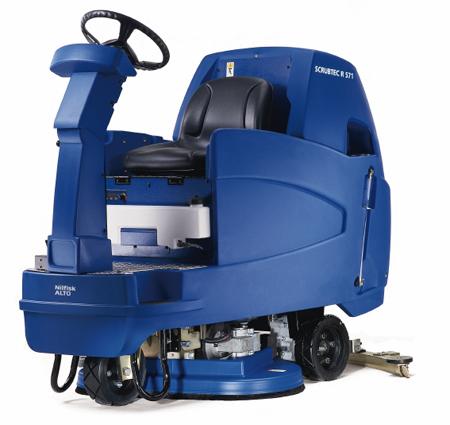 Fregadora secadora de nilfisk scrubtec r 571 s