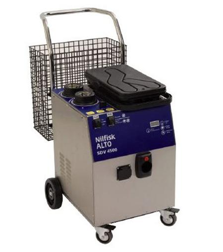 Limpiadora a vapor industrial nilfisk sdv 4500