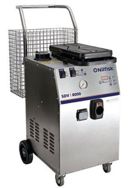 Limpiadoras a vapor industriales sdv 8000
