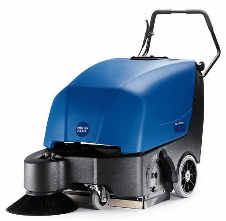 Barredora de conductor a pie nilfisk floortec 560 b c/carg
