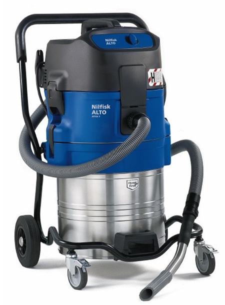Aspirador de nilfisk para polvo de seguridad attix 751-0h