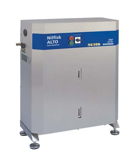 Hidrolimpiadora estacionaria de nilfisk duo booster 7-121