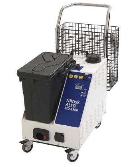 Limpiadora nilfisk profesional para el sector sanitario md 4500