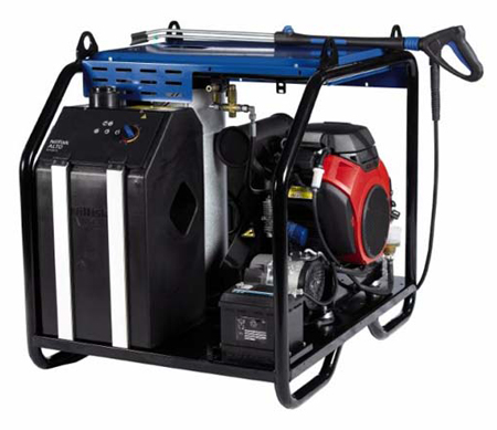 Hidrolimpiadora nilfisk agua caliente a gasolina neptune 5-54 pe