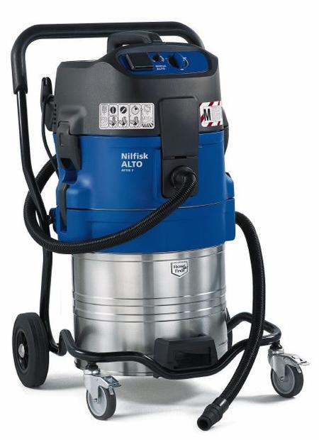 Aspirador profesional de nilfisk para polvo peligroso attix 751-2m
