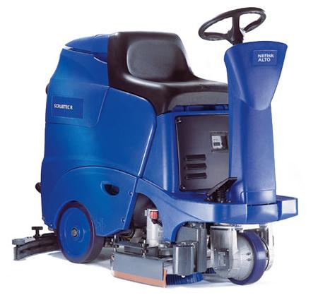 Fregadora secadora profesional nilfisk scrubtec r 361