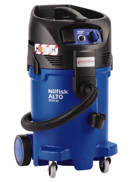 Aspirador de seguridad de nilfisk attix 50-2m xc