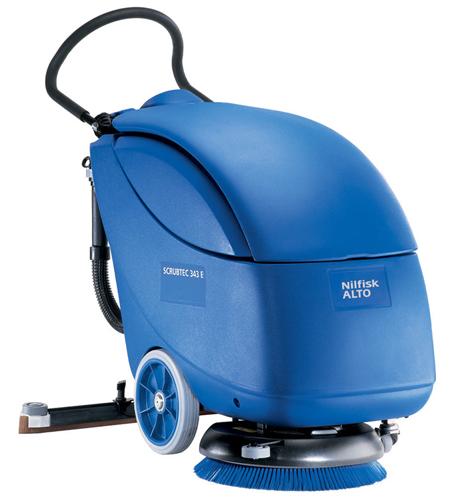 Fregadora secadora automatica de nilfisk scrubtec 343 e