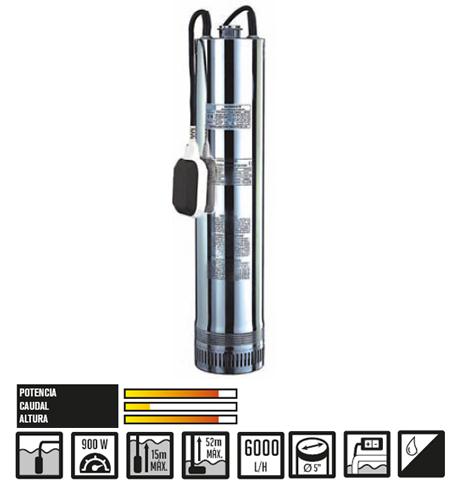 bomba sumergible para gran profundidad electrica omega motegi 183