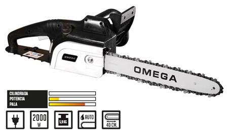 sierra de cadena para poda de Omega electrica Mugello 841