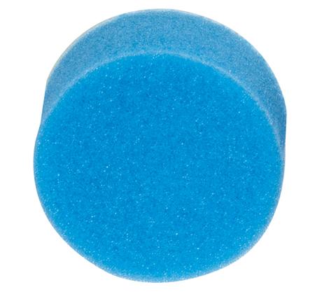 Esponja de pulido (azul= dureza media)
