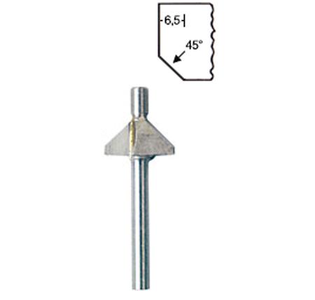 Fresa para perfiles de metal duro para MP 400