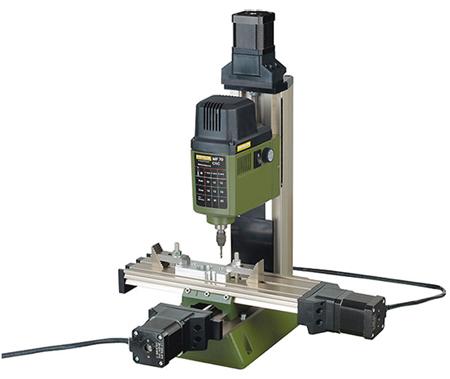 Micro fresadora MF 70/CNC-ready