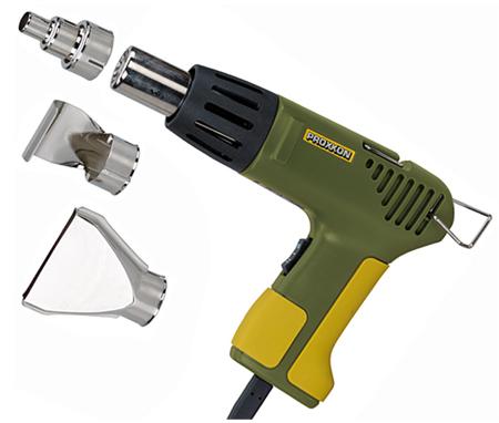 Pistola miniatura termica de proxxon mh 550