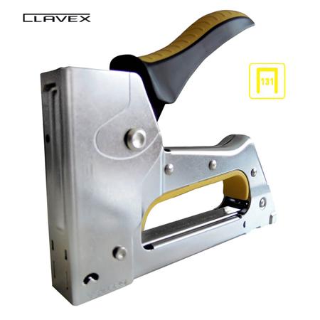 grapadora profesional metalica clavex pro-131 3629