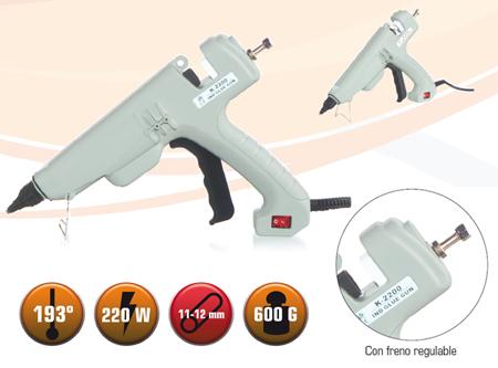 Pistola de cola caliente k2200