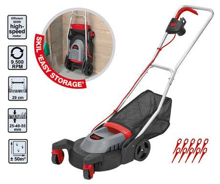 Cortacesped electrico skil 0711aa f0150711aa