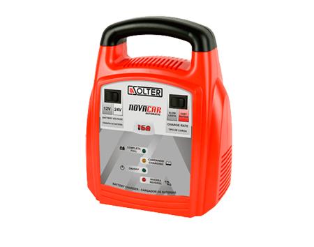 Cargador para baterias liquidas y de gel 16A Novacar Automatic