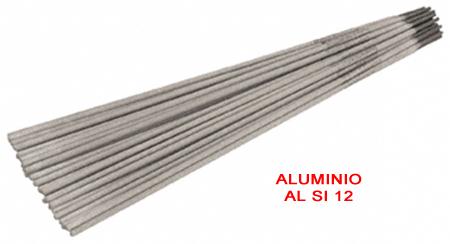 Electrodos alumninio Al Si 12