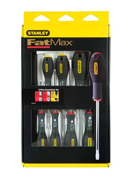 Kit destornillador de 8 piezas stanley ref. 0-65-437