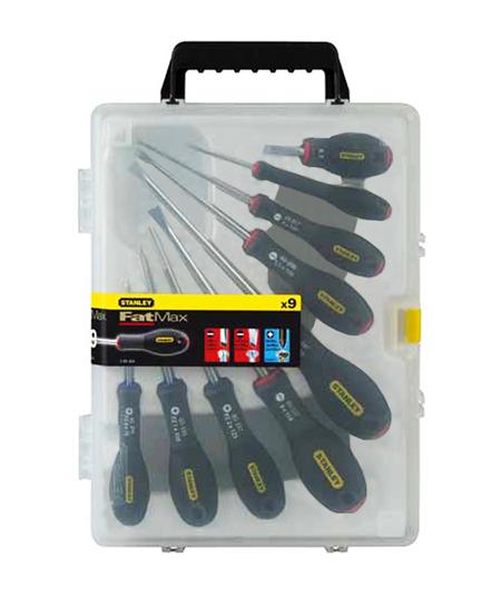 Destornilladores 9 piezas stanley ref. 0-65-424