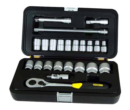 Estuche herramientas con llaves de vaso stanley 1-94-671