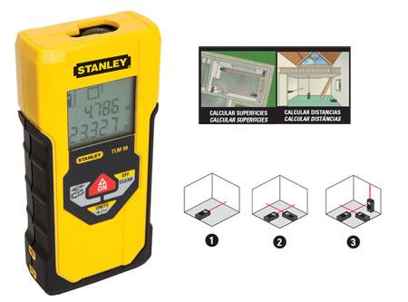 medidor de distancias laser stanley tlm 99 30 metros