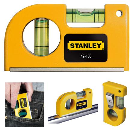 Niveles pequeños de bolsillo magnetico 0-42-130