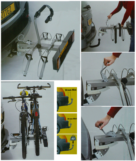 Fijación de bicis para bola 2b