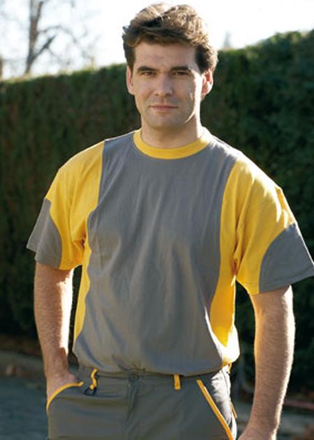 Camisetas juba manga corta 934