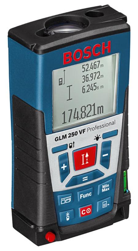 Tel�metro GLM 250 VF bosch Ref. 0.601.072.100