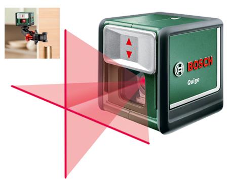 Nivelador laser de cruz bosch quigo  0.603.663.200