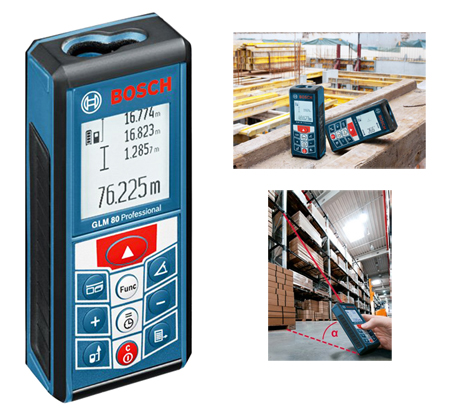 Medidor laser bosch glm 80 ref. 0.601.072.300