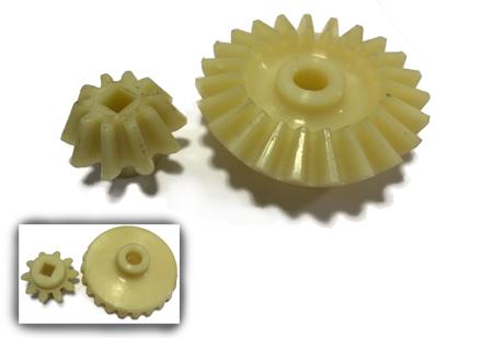 Piñones y engranajes de repuesto para extractores de miel