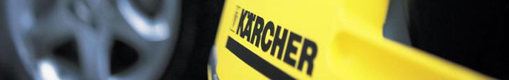 Maquinas Karcher para limpieza de coches.