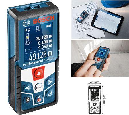 telemetro laser de bosch profesional glm 50