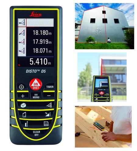 Medidor de distancias laser leica disto d5