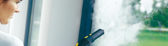 Limpiadoras de vapor Karcher para el hogar.